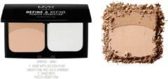 Beige NYX Professional Makeup NYX Define & Refine Poeder Foundation - 05 Sand