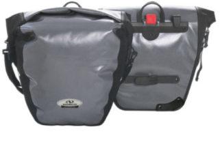 Norco Bags - Arkansas Hinterradtasche - Bagagedragertas maat 2 x 20 l, grijs/zwart