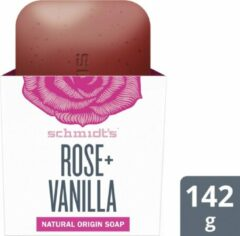 Schmidt's Rose + Vanilla Natural Soap Bar - 142 g