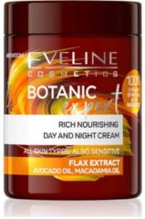 Eveline Cosmetics Botanic Expert Rich Nourishing Day & Night Cream Flax Extract 100ml.