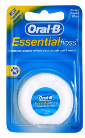 Afbeelding van Oral B Flosdraad Essential Floss Regular 50mtr