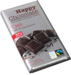 Happy Happy chocolate dark 85% 180 Gram