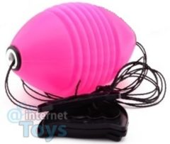 Johntoy Outdoor Fun Trekbal 20 x 10 x 10 cm roze