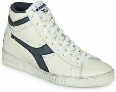 Witte Hoge Sneakers Diadora GAME L HIGH WAXED