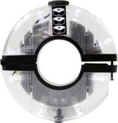 Ikzi Light Wiellicht led ikzi 8 led naaf lamp flashy 3 lr44 batterij - WIT