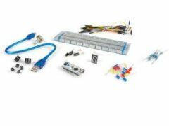 Basisexperimenteerkit Velleman VMA504 Geschikt voor (Arduino boards): Arduino, Arduino UNO, Fayaduino, Freeduino, Seeeduino, Seeeduino ADK, pcDuino 1 stuks
