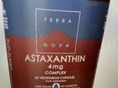 Terranova Astaxanthin complex Inhoud: 100 capsules