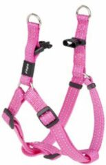 ROGZ FOR DOGS SNAKE STEP-IN TUIG VOOR HOND ROZE #95; 16 MMX42-61 CM