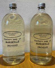 Provendi Vloeibare Marseille zeep, navulling 2 x 1000 ml Orchidee