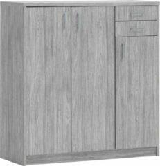Rousseau - Commode - Grijs - 106x36x110 cm
