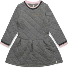 Esprit Sweatjurk met kruisstiksels Light Heather for Girls