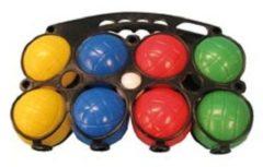 Groene Longfield Games Jeu De Boules Set Plastic 8 Ballen Gekleurd