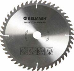 BELMASH zaagblad Ø280mm - as 30mm - 48T