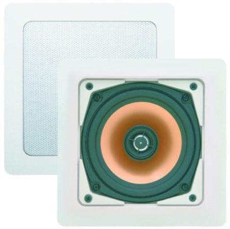 Afbeelding van Douche Concurrent Badkameraudio Aquasound Samba 4044 Speakers Vierkant 17.7x17.7x6.5cm Wit