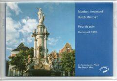 De Nederlandse Munt Nederland Jaarset Munten 1996 FDC - Overijssel