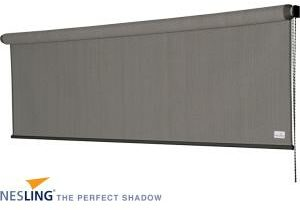 Afbeelding van Donkergrijze Nee Nesling Parasol Coolfit Rolgordijn 2,96 x 2,4 Grey