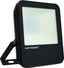 Zwarte HOFTRONIC™ LED Breedstraler 30 Watt - IP65 - 6400K - 160lm/W - Schijnwerper - Buitenlamp - 5 jaar garantie