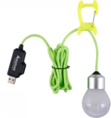 Human Comfort USB Compact Bolly Lamp Wit/Zilver