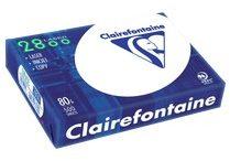 Afbeelding van Printpapier Clairefontaine Laser 2800C DIN A4 80 g/m² 500 vellen Wit