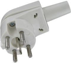 KOPP Perilex haakse stekker, 16A, 400/230V | WIT