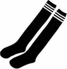 Merkloos Kniekousen Zwart Wit Dames Overknee sokken 36-38