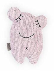 Roze Baby Jollein Knuffeldier Confetti Monster, vintage pink