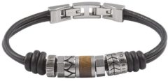 Bruine Fossil Vintage casual Mannen Armband JF84196040