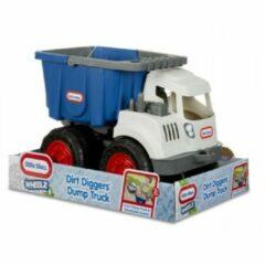 Blauwe Little Tikes Dirt Digger 2-in-1 Dump Truck