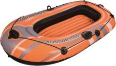 Oranje Bestway Opblaasboot Kondor 1000 155x93 cm 61099