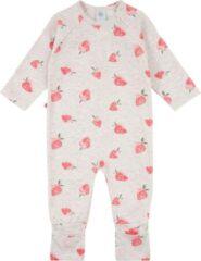 Rode Sanetta baby onesie Strawberry maat 74