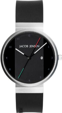 Afbeelding van Zilveren Jacob Jensen watches herenhorloge New 732