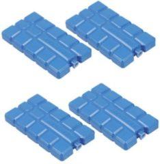 Fresh & cold Fresh en Cold Koelelement - klein - 4-pack - blauw - voor koelbox - vriezer