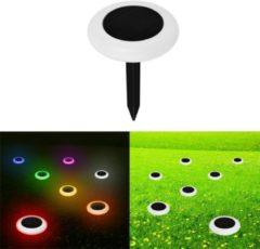 Meco Solar Powered 10 LED RGB Lawn Light Waterproof Outdoor Garden Landscape Yard Path Lamp