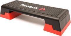 Zwarte Reebok studio step l 3 hoogtes verstelbaar