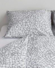 Grijze At Home Fragile Kussensloop - 60x70 cm - Grey