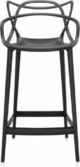Zwarte Kartell Masters barkruk 65cm