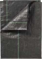 Nature Gronddoek - Zwart - 5 x 4.20 mtr / 100 gr p/m² met lijnen