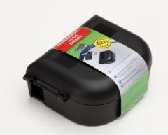 Luxan Muizenbox Met Klem - Ongediertebestrijding - Zwart