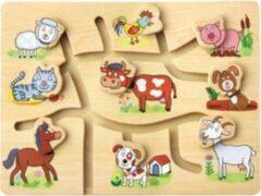 Bino mertens Puzzel 'zoek het juiste hoofd' Farm