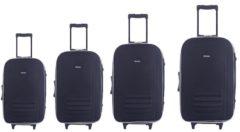 Kofferset 4 tlg. High Level HTI-Line Grau