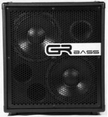 GRBass GR210/T8 600W 2x10 basgitaar cabinet 8 Ohm zwart