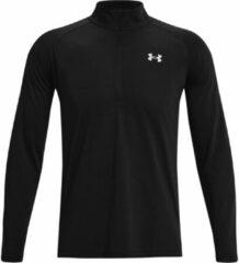 Zwarte Under Armour Streaker Half Zip Running Top - Hardloopshirts (lange mouwen)