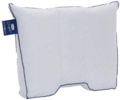 Silvana Comfort synthetisch medium-stevig hoofdkussen - 100% gesiliconiseerde holle polyester vezel - Wit
