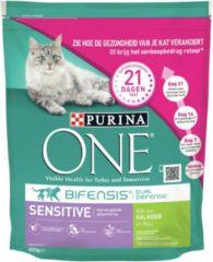 Purina One Sensitive - Kattenvoer - Kalkoen Rijst 800 g - Kattenvoer