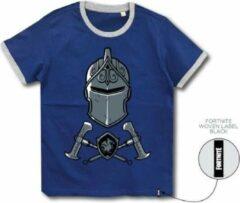 Blauwe T Shirt Fortnite Black Knight