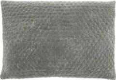 Nordal Mizar kussen velvet grijs 50 x 70 cm