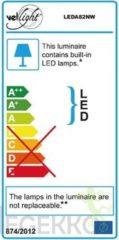 Perel Led-Plafondarmatuur 16 W - Rond - Neutraalwit