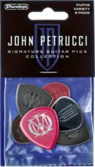 Dunlop PVP119 John Petrucci Signature Pick Collection plectrumset (6 stuks)