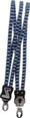 Donkerblauwe Simson Snelbinder, 3 binder, marine-wit