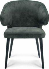 Happy Chairs – Armstoel Feliciano – Velvet Hunter Groen